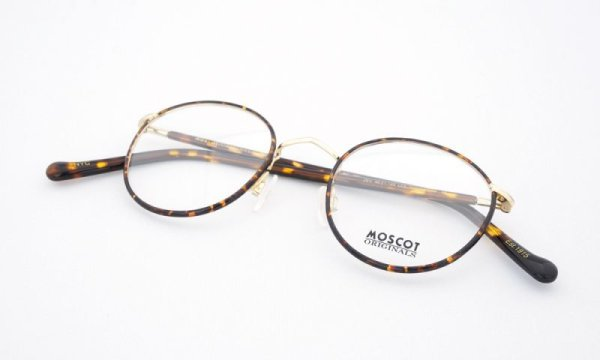 MOSCOT ZEV 46size Col.Tortoise/Gold