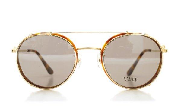 画像2: ayame アヤメ 2014年新作メガネ+クリップオンサングラス セット