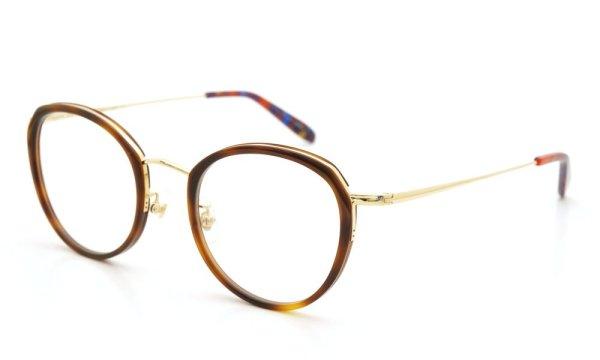 megane and me (メガネアンドミー) メガネ ME006 FELIX DB1 demi/gold/vintage-violet-marble 1