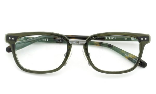 JAPONISM (ジャポニスム) sense collection(センスコレクション) メガネ JS-109 COL.04 khaki 4