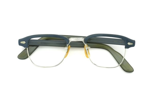 Bausch&Lomb vintage 60s BROW 1/10 12KGF GREY/WHITE-GOLD 42-22