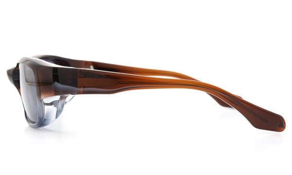 FACTORY900 ×PonMegane 10周年記念オリジナル サングラス F-002 Col.Brown-Clear-Grey Lense.Silver-Matte-Mirror 3