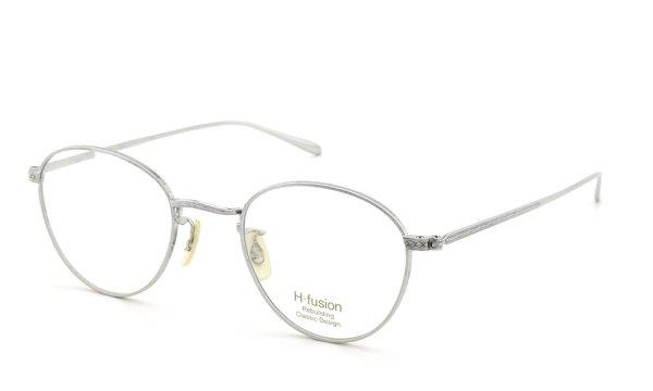 H-fusion メガネ HF-610  silver