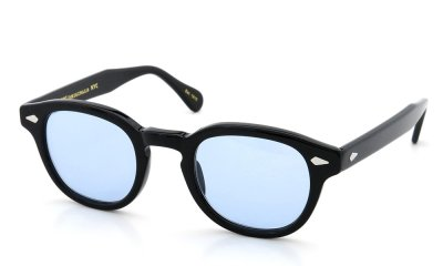 MOSCOT LEMTOSH SUN 46 BLACK/L.BLUE