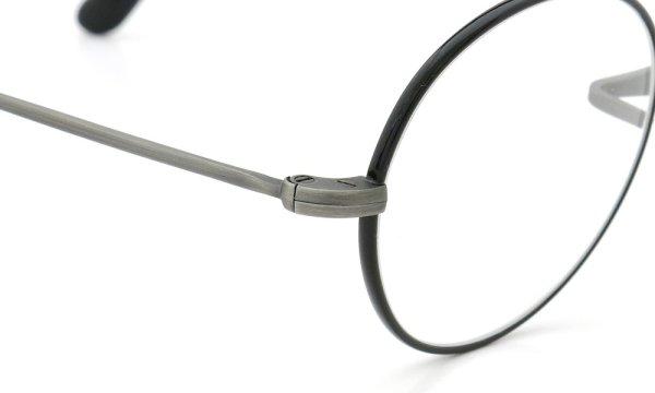 オリバーゴールドスミス メガネ Oliver Oban オーバン Titanium Antique-Silver BK