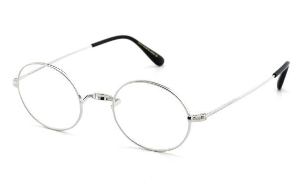 オリバーゴールドスミス メガネ Oliver Oval/Pro オーバル Titanium Silver