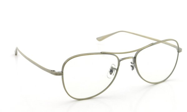 OLIVER PEOPLES × THE ROW メガネ EXECUTIVE SUITE col.AG 53size