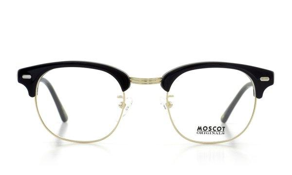 MOSCOT モスコット 日本限定カラー メガネ メガネ YUKEL col.Black-GOLD 46size