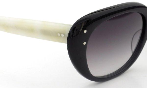 オリバーゴールドスミス サングラス SOPHIA(1958) ソフィア Black & Ivory