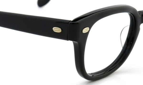 SRO STYL-RITE OPTICS vintage SAXON BLACK 46-24