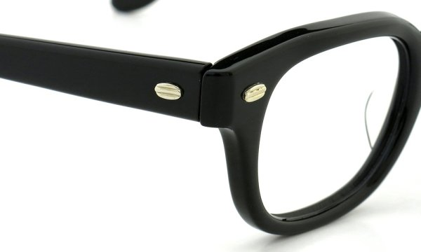 SRO STYL-RITE OPTICS vintage SAXON BLACK 44-24