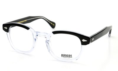 MOSCOT LEMTOSH 46 BLACK CRYSTAL