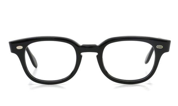 SRO STYL-RITE OPTICS vintage SAXON BLACK 46-22 (n2)