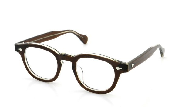 JULIUS TART OPTICAL 通販 AR-44 PL-001D BROWN-CRYSTAL