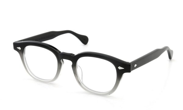 JULIUS TART OPTICAL 通販 AR-46 PL-002B BLACK CLEAR FADE