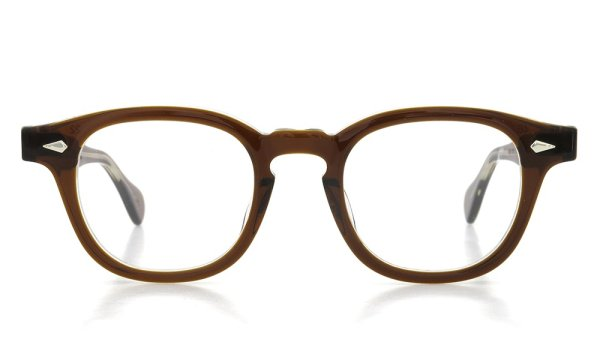 JULIUS TART OPTICAL 通販 AR-46 PL-002D BROWN CRYSTAL