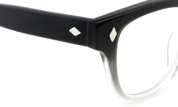 JULIUS TART OPTICAL 通販 BRYAN-46 PL-007B BLACK CLEAR FADE