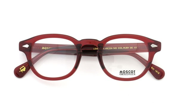 MOSCOT LEMTOSH RUBY 46size