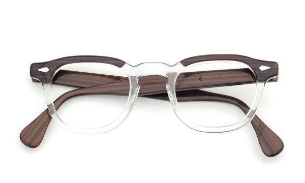 TART Optical 通販 ARNEL REDWOOD CB-CLEAR 46-24