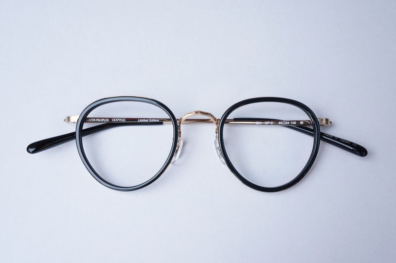OLIVER PEOPLES MP-2 BK