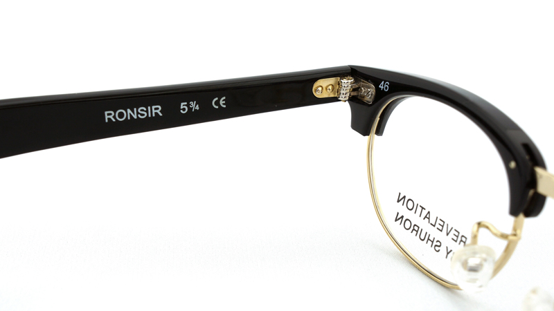 SHURON(シュロン) RONSIR REVELATION (Black/Gold) 46サイズ-1