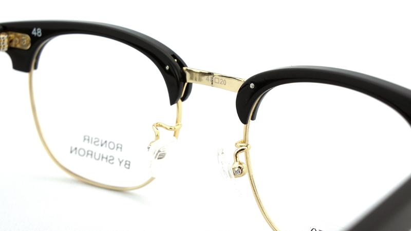 SHURON(シュロン) RONSIR ZYL(Black/Gold) 48サイズ-2