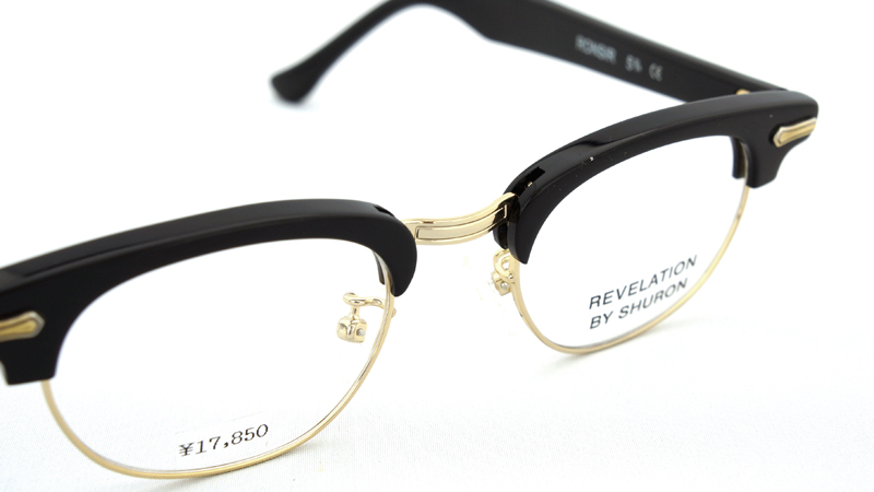 SHURON(シュロン) RONSIR REVELATION (Black/Gold) 46サイズ-8