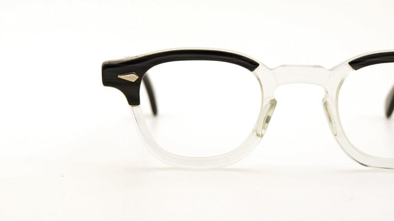 TART OPTICAL タートオプティカル メガネ vintage ARNEL BLACKWOOD-CLEAR 42/24 9