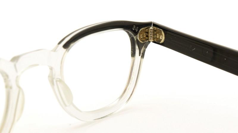 TART OPTICAL タートオプティカル メガネ vintage ARNEL BLACKWOOD-CLEAR 42/24 8