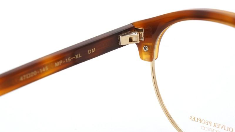 OLIVER PEOPLES オリバーピープルズ 2013年新作 メガネ MP-15-XL DM 8