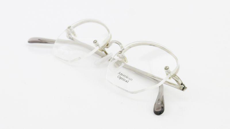 American Optical(アメリカンオプチカル) メガネ Ful-Vue シルバー 9