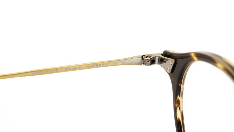 OLIVER PEOPLES オリバーピープルズ OLIVER PEOPLES (オリバーピープルズ)20周年記念メガネ Wylie COCO/AG 8