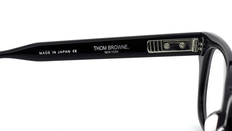 THOM BROWNE.  NEW YORK(トムブラウンニューヨーク)メガネ TB-401 A-BLK-49.5size 8