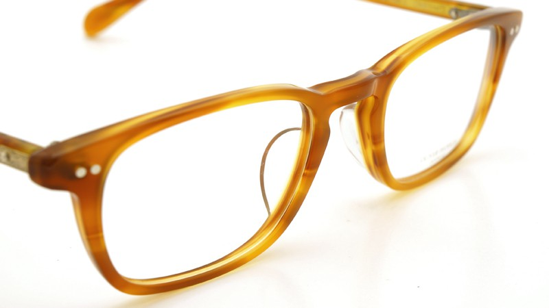 OLIVER PEOPLES (オリバーピープルズ)  × MILLER'S OATH (ミラーズ オース) 限定生産 カプセルコレクション [ SIR SERIES AT MILLER'S OATH ] Sir Kent Vintage Light Brown 6