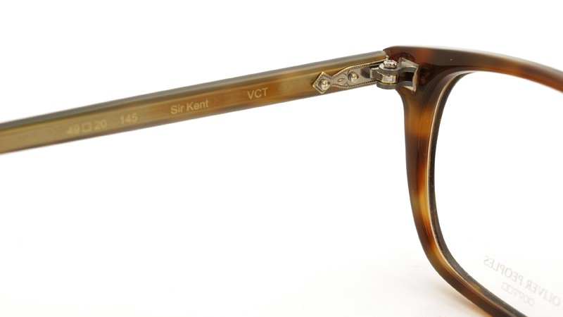 OLIVER PEOPLES (オリバーピープルズ)  × MILLER'S OATH (ミラーズ オース) 限定生産 カプセルコレクション [ SIR SERIES AT MILLER'S OATH ] Sir Kent Vintage Classic Tortoise 9