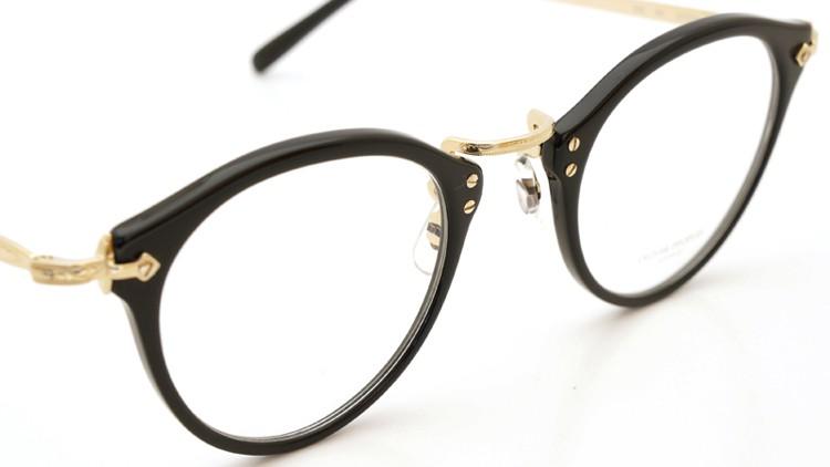 OLIVER PEOPLES オリバーピープルズ メガネ OP-505 ブラック/ゴールド 雅 6