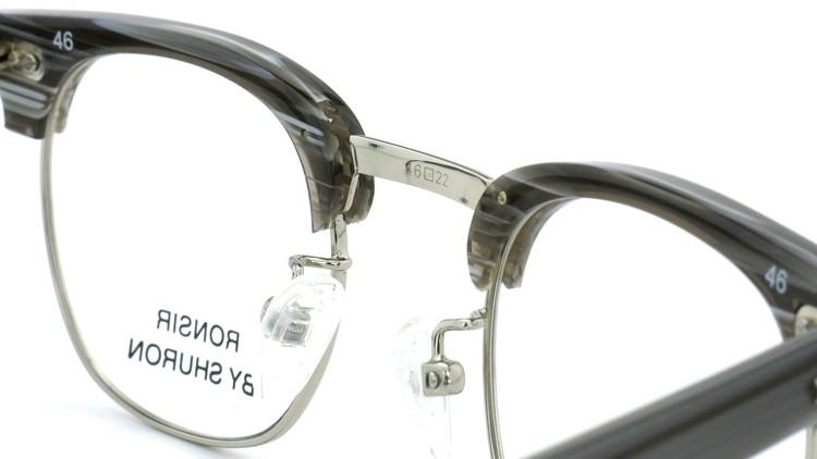 SHURON(シュロン) メガネフレーム RONSIR ZYL (GreyBriar/Silver) 46-22 8
