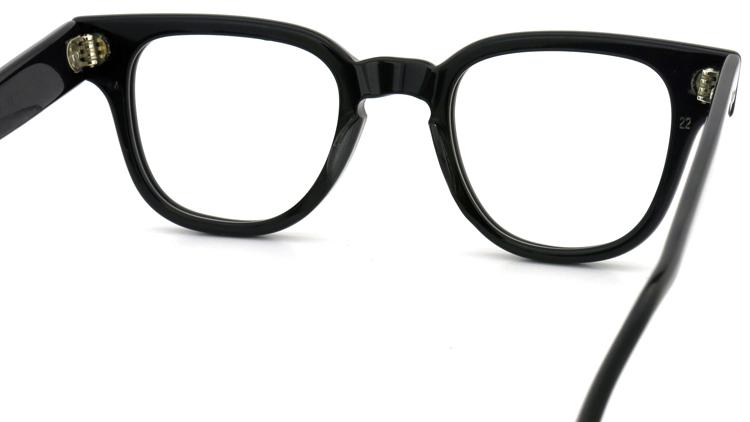vintage TART OPTICAL メガネフレーム BRYAN BLACK 44-22 7