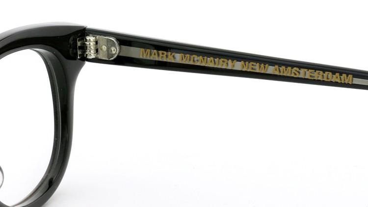 GLCO (ジーエルシーオー)  × MARK MCNAIRY (マークマクナイリー)  コラボレーション メガネ MM1005 47size ROWAN BLK 11