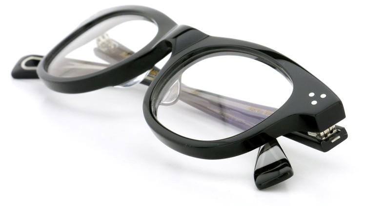 GLCO (ジーエルシーオー)  × MARK MCNAIRY (マークマクナイリー) コラボレーション メガネ MM1005 47size ROWAN BLK 14
