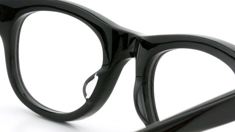GLCO (ジーエルシーオー)  × MARK MCNAIRY (マークマクナイリー) コラボレーション メガネ MM1005 47size ROWAN BLK 8