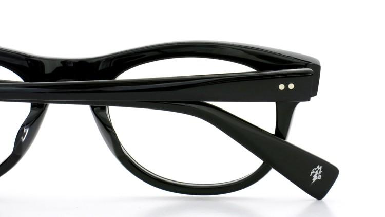 GLCO (ジーエルシーオー)  × MARK MCNAIRY (マークマクナイリー)  コラボレーション メガネ MM1005 47size ROWAN BLK 16