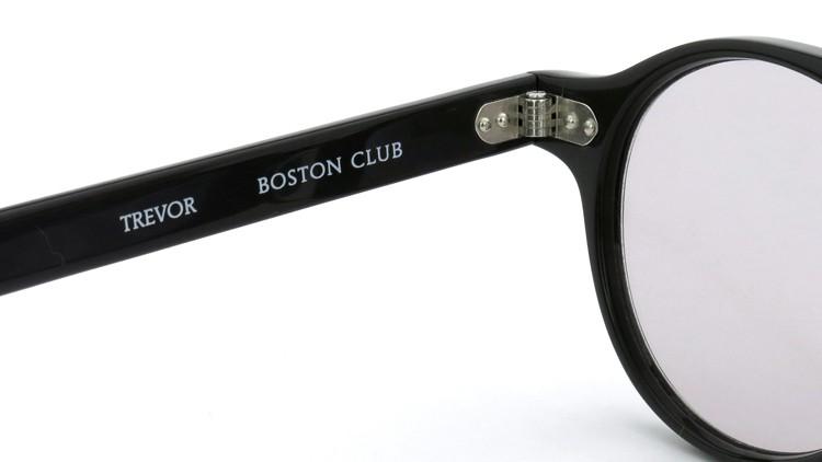 BOSTON CLUB ボストンクラブ 2014年S/Sコレクション 4月発表の最新作コンビネーション サングラス TREVOR Col.S04 Gray 46size ライトグレーレンズ 9