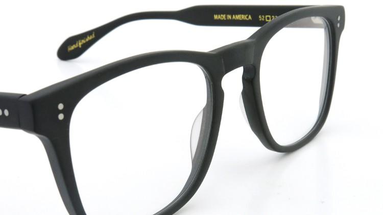GLCO (ジーエルシーオー) × WARAIRE BOSWELL (ワライア ボズウェル) コラボレーション メガネ US112 Matte Black 6