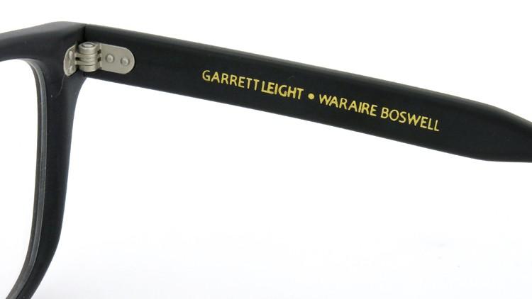 GLCO (ジーエルシーオー) × WARAIRE BOSWELL (ワライア ボズウェル) コラボレーション メガネ US112 Matte Black 11