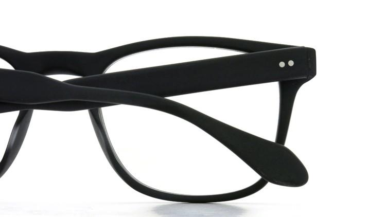 GLCO (ジーエルシーオー) × WARAIRE BOSWELL (ワライア ボズウェル) コラボレーション メガネ US112 Matte Black 14