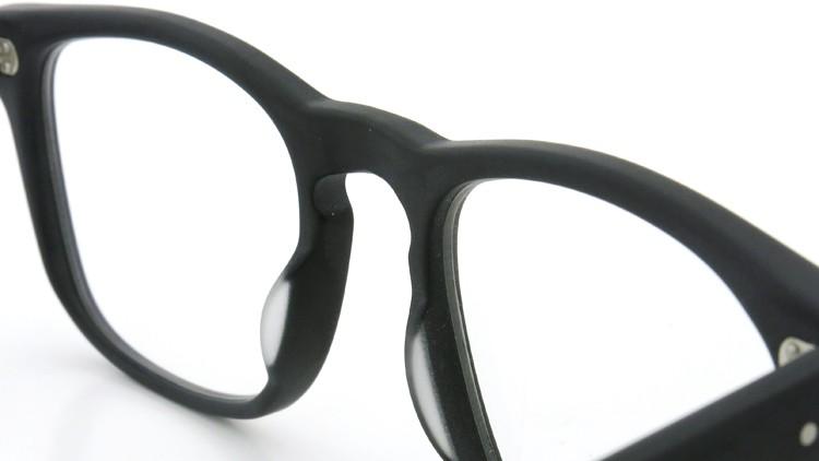 GLCO (ジーエルシーオー) × WARAIRE BOSWELL (ワライア ボズウェル) コラボレーション メガネ US112 Matte Black 8