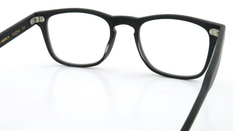 GLCO (ジーエルシーオー) × WARAIRE BOSWELL (ワライア ボズウェル) コラボレーション メガネ US112 Matte Black 7