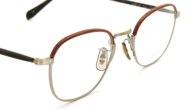 OLIVER PEOPLES (オリバーピープルズ) 2014S/S 新作メガネ Dove AG/WN 6