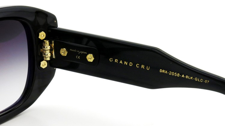 DITA (ディータ) 2014年新作サングラス GRAND CRU DRX-2058-A-BLK-GLD-57size 10
